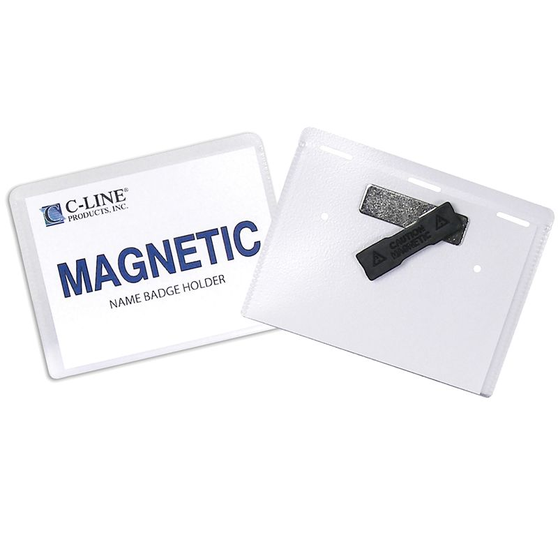 Magnetic Style Name Badge Kit 20/bx
