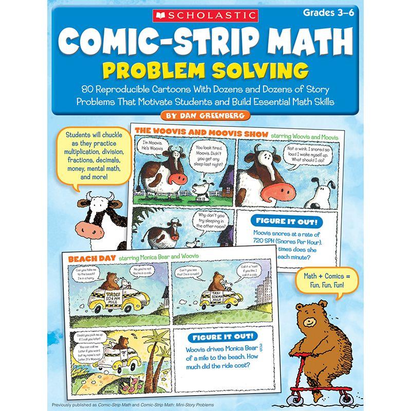 Comic Strip Math Problem Solving Gr 3-6