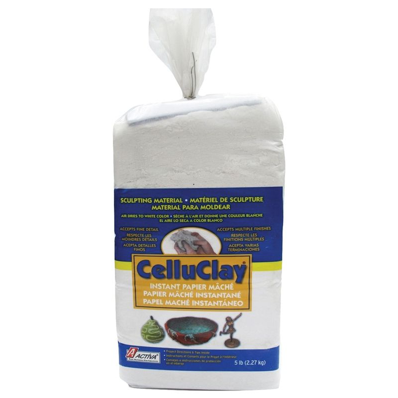 Celluclay Bright White 5 Lb Package