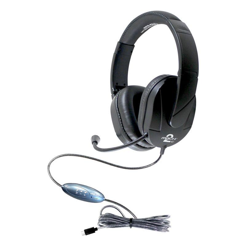 Headset Over Ear Mic Usb