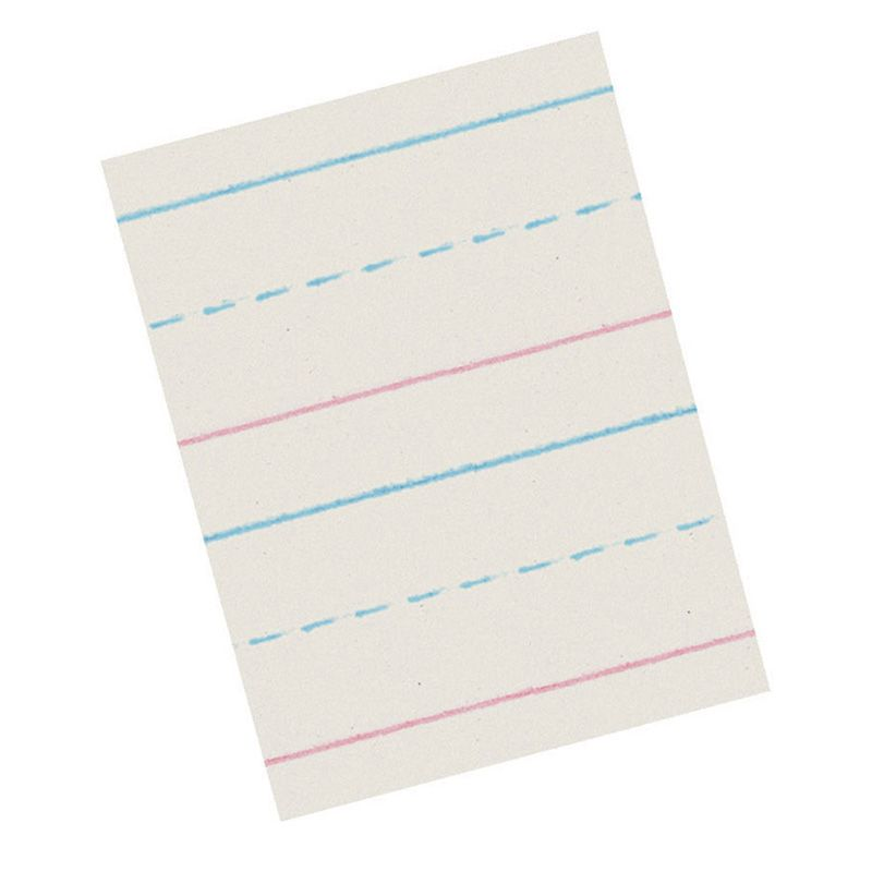 Broken Midline Paper 5/8X5/16 Long Zaner Bloser 500Shts