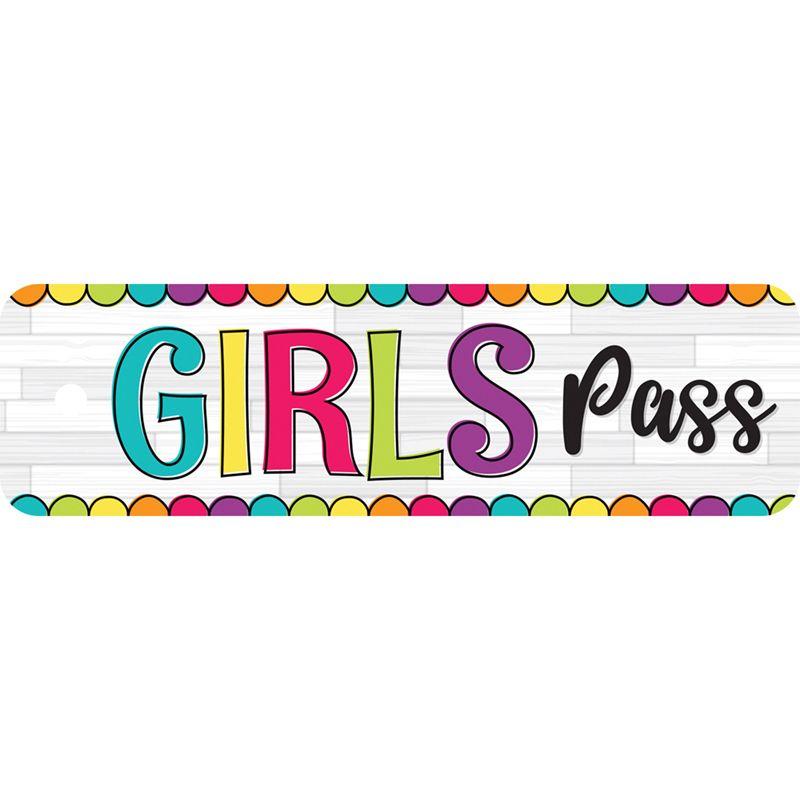 Diy Dots Girls Pass Plastic