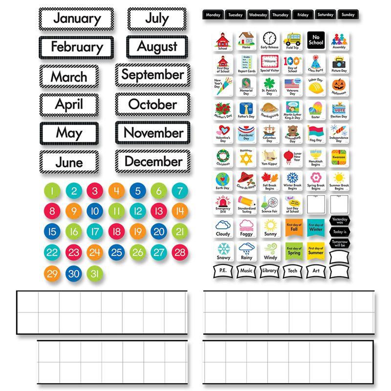 Linear Calendar Set