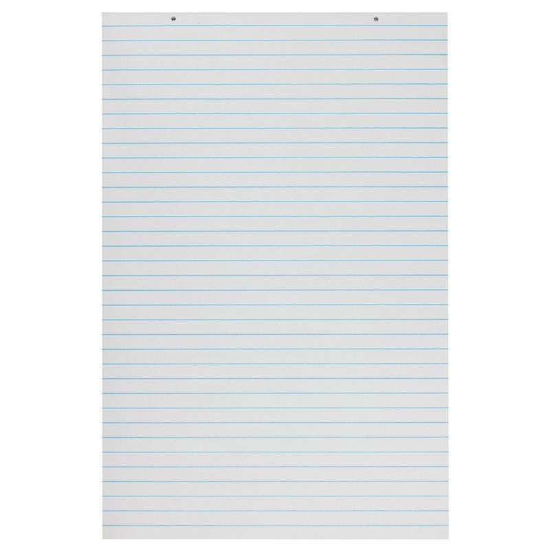 Primary Chart Pads White 100 Sheets
