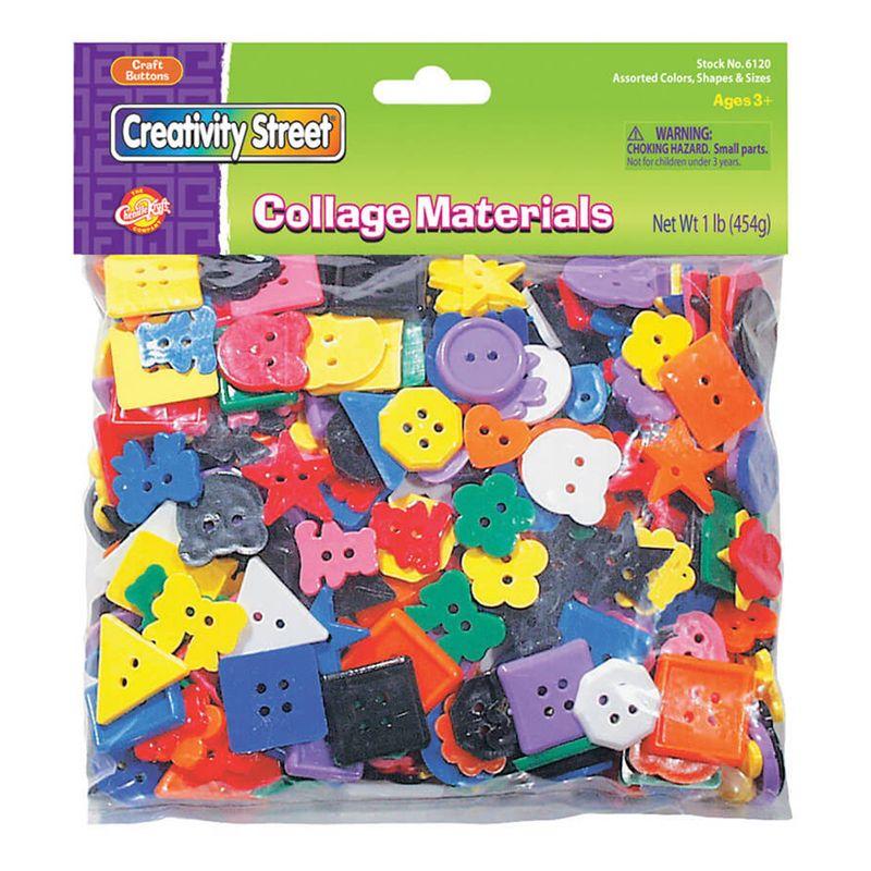 Buttons 1Lb Bag Asst Colors & Sizes