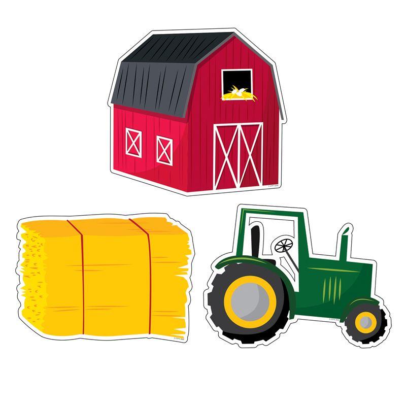 Farm Friends Farm Fun 6in Cutouts