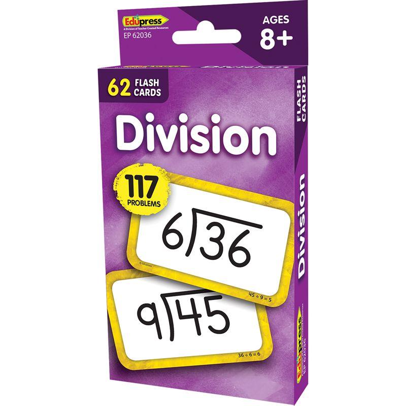 Divison Flash Cards
