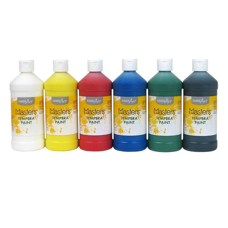 Little Masters Tempera Pint Kit 6 Colors