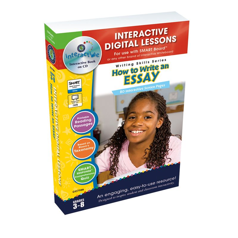 How To Write An Essay Interactive Whiteboard Lessons
