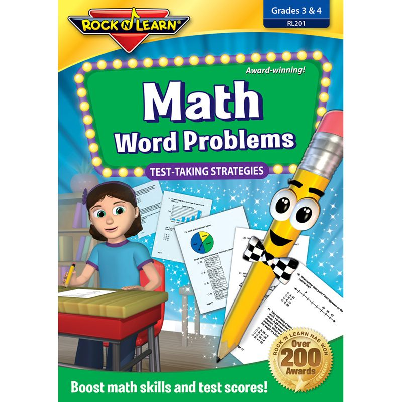 Math Word Problems Test Taking Strategies Dvd