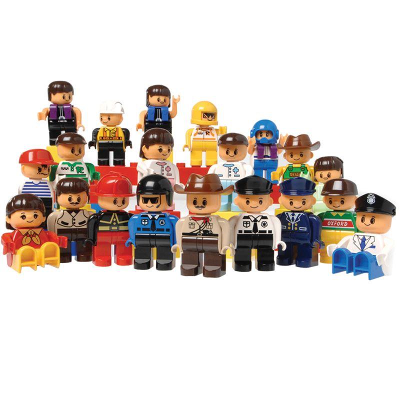 People For Preschool Bricks