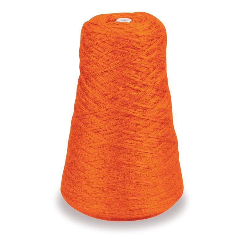 4 Ply Rug Yarn Refill Cone Orange