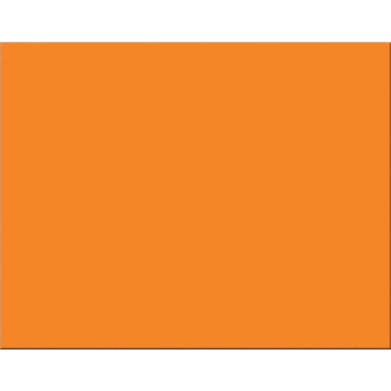 4 Ply Rr Poster Board 25 Sht Orange
