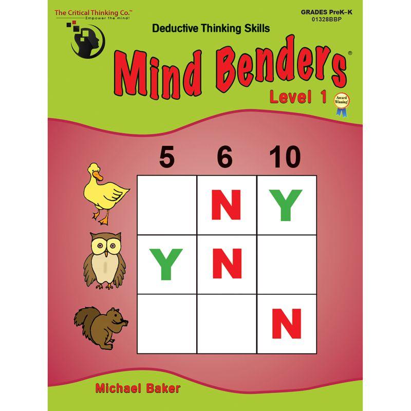 Mind Benders Level 1 Gr Pk-k