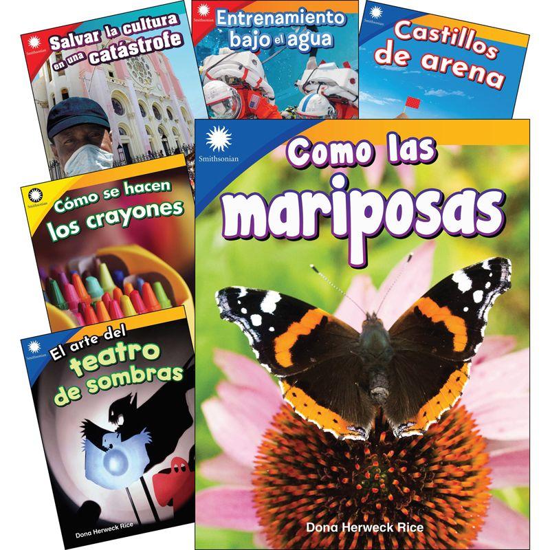 Fun In Action Spanish Grades K-1 6 Book Set Smithsonian Info