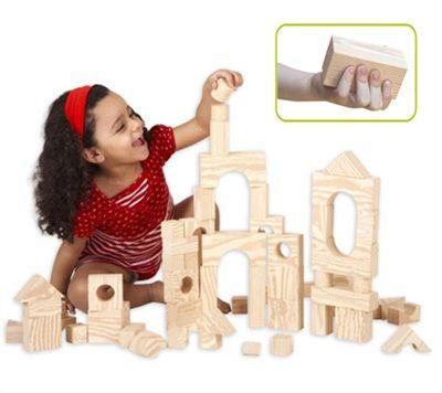 Wood-like-soft-blocks 80pcs