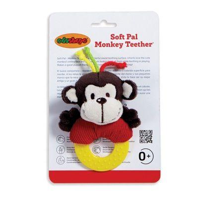Soft Pal - Monkey Teether