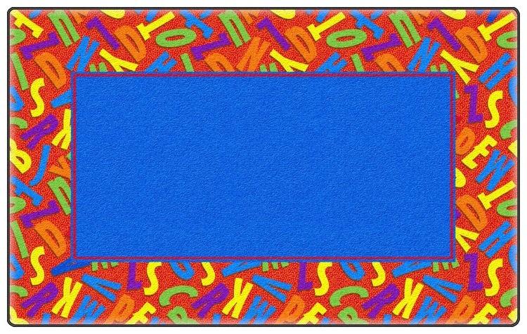 Flagship Carpets Scattered Alphabet