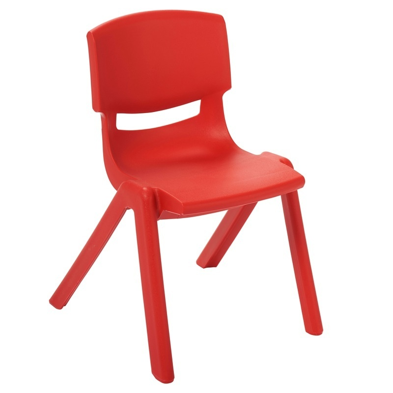 12 Inch Plastic Stackable Classroom Chairs, Indoor/outdoor Resin Stack Chairs For Kids And Toddlers, Preschool And Daycare Furniture