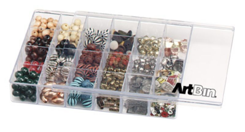 Slide N Store™ 24 Compartment Sliding Lid Box