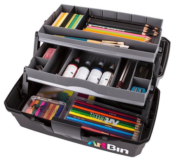Artbin Two Tray Art Supply Box