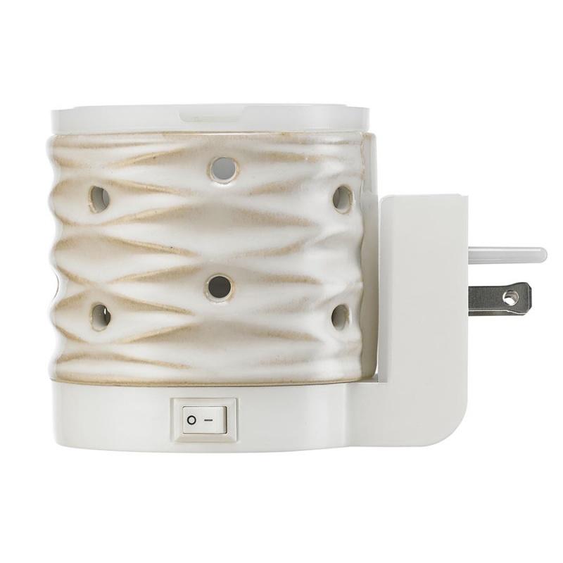Serene House U S A White Net Wall Plug Wax Melt Warmer