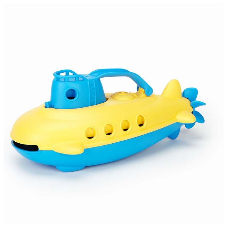 Green Toys Bath & Water Play Blue Submarine For 6+ Months
