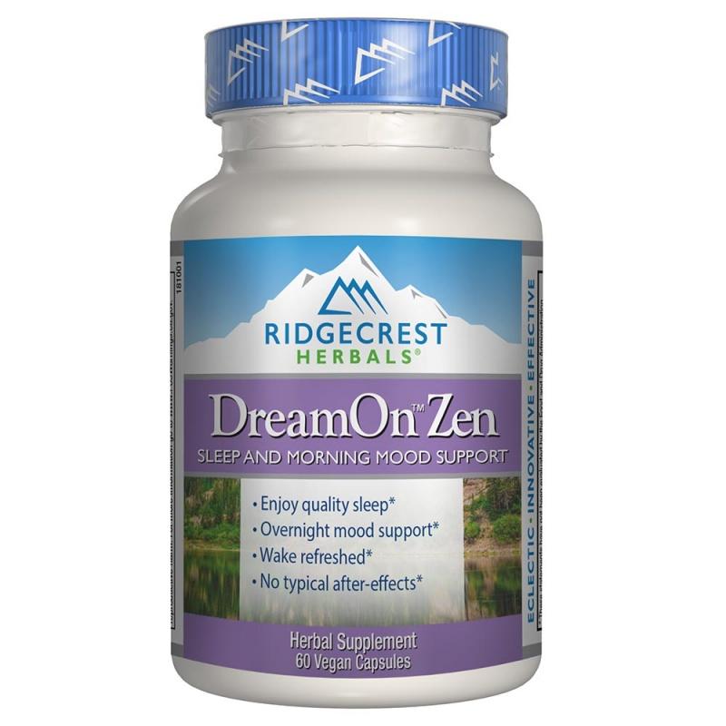 Ridgecrest Herbals Dream On Zen 60 Count