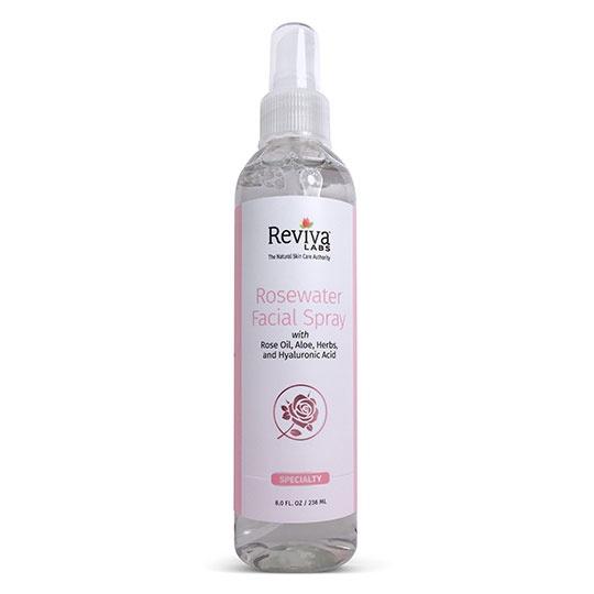 Reviva Labs Rosewater Facial Spray 8 Fl. Oz.