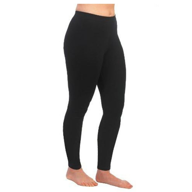 Maggie's Functional Organics Black Footless Tights Small