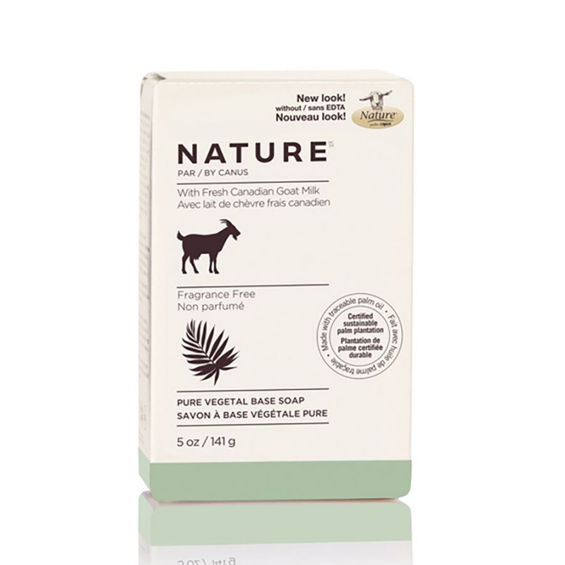 Nature By Canus Fragrance Free Bar Soap 5 Oz.