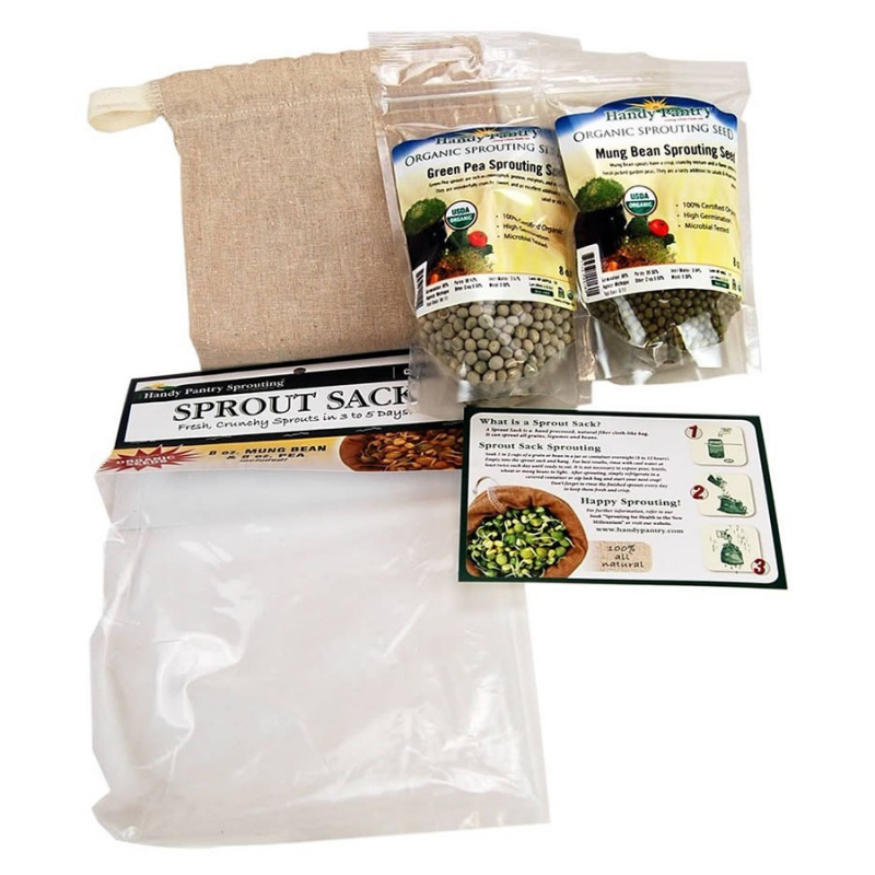 Handy Pantry Sprout Sack Combo Pack