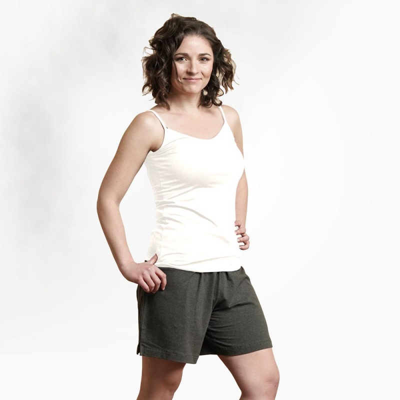 Maggie's Functional Organic X X- Large White Camisole