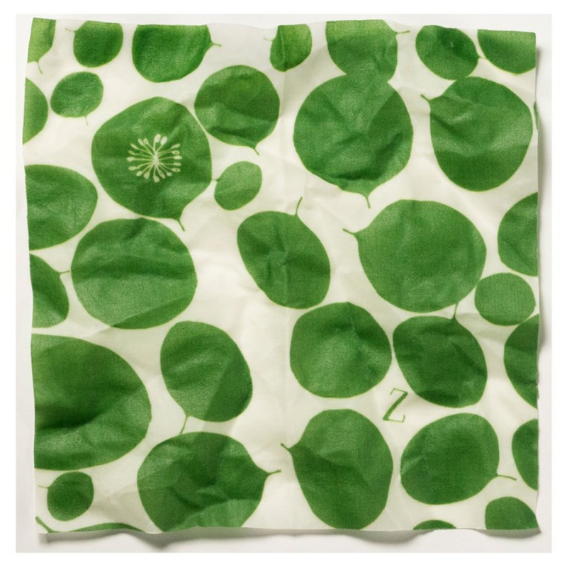 Z Wraps X Large Beeswax Wrap, Leafy Green Print 16 X 26