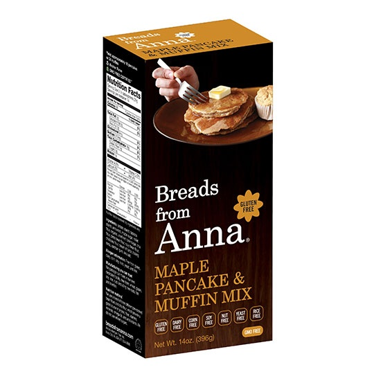 Breads From Anna Maple Pancake Mix