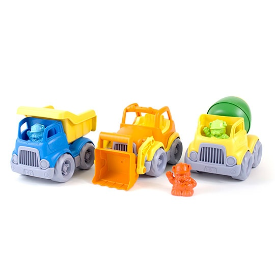 Green Toys Construction Truck Gift Set - 2+ Years