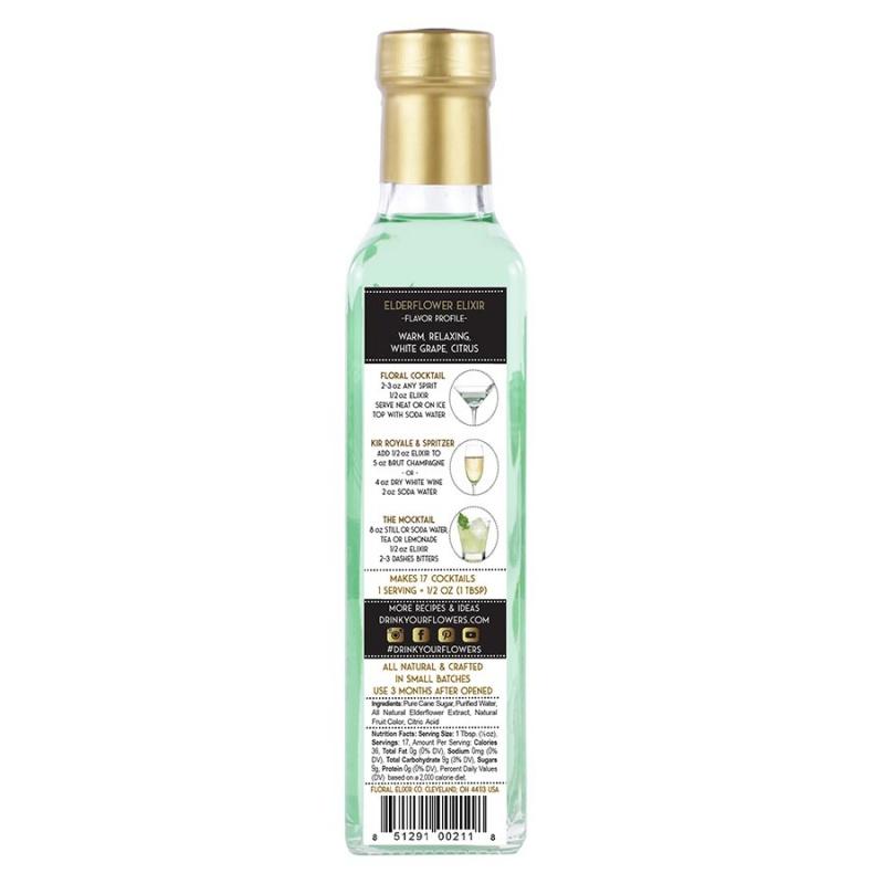 Floral Elixir Co. Elderflower Elixir 8.5 Fl. Oz.