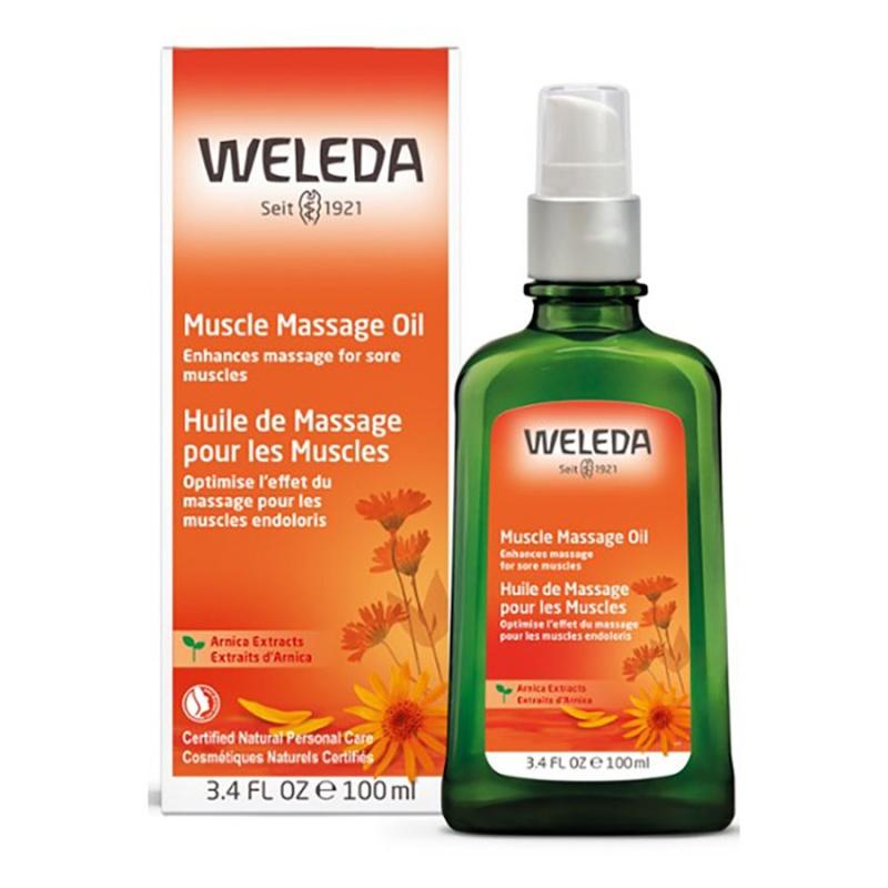 Weleda Arnica Massage Oil 3.4 Fl. Oz.