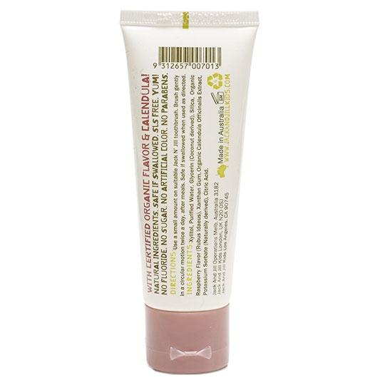 Jack N' Jill Kids Raspberry Organic Calendula Toothpaste 1.76 Oz
