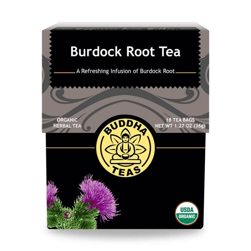 Buddha Teas Organic Burdock 18 Tea Bags