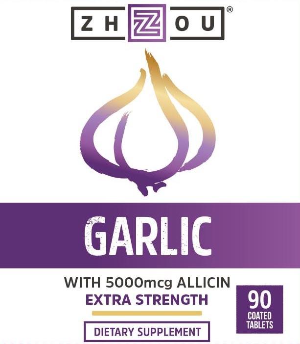 Zhou Garlic With Allicin 90 Count