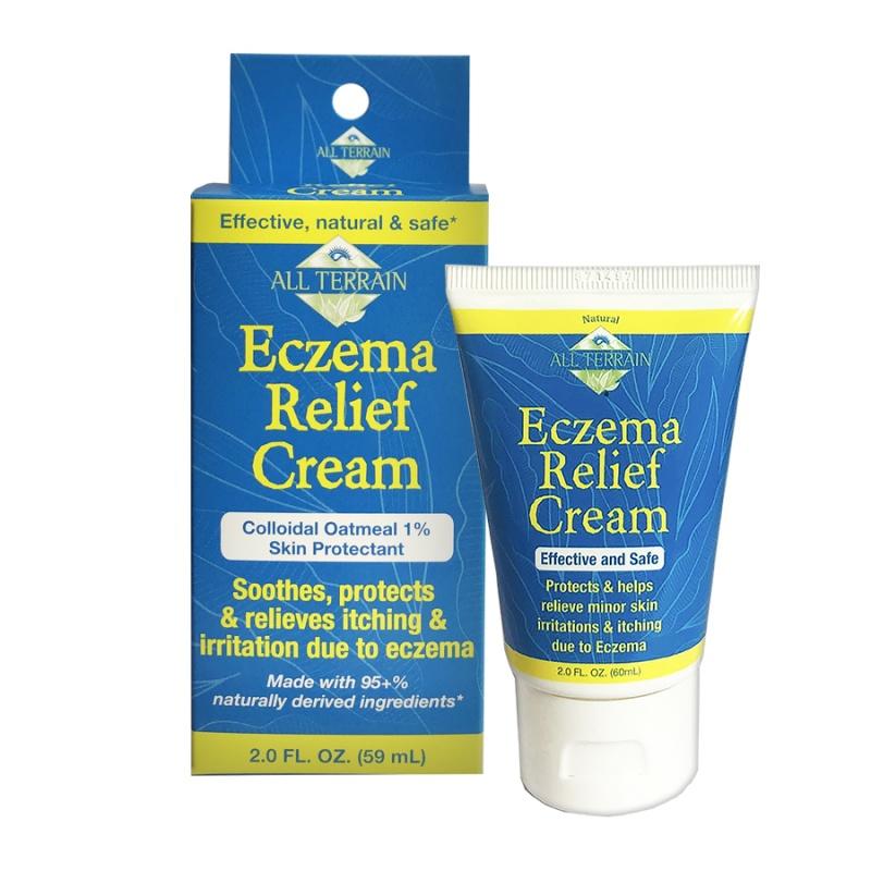 All Terrain First Aid Eczema Relief Cream 2 Oz.