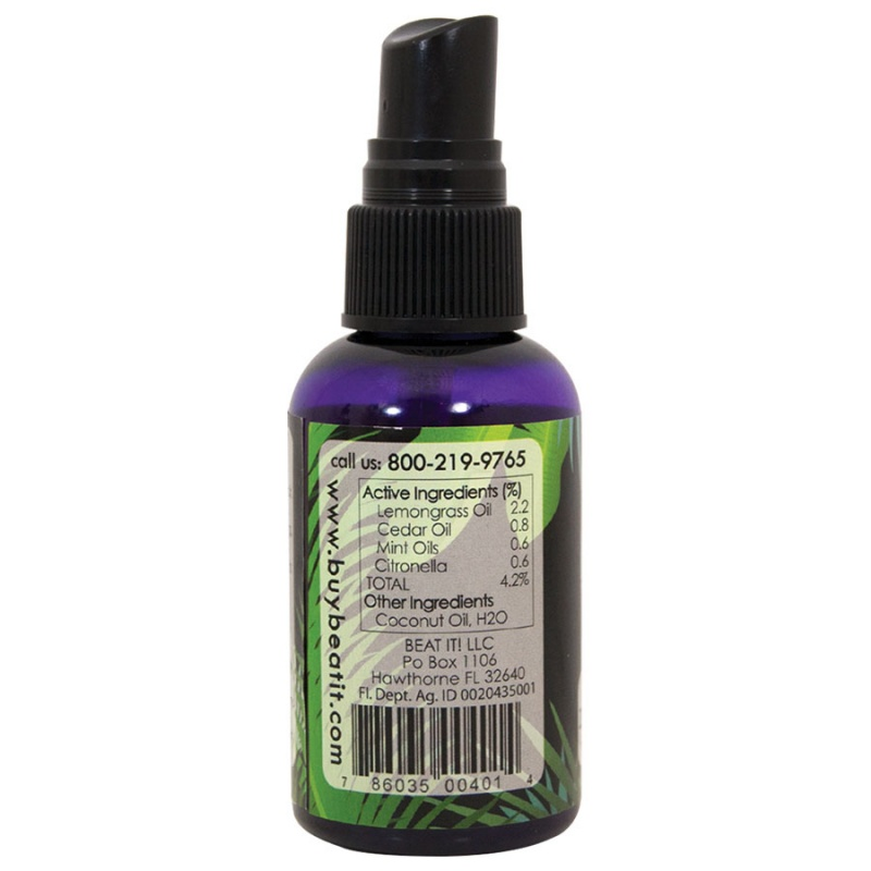 Jade & Pearl All Natural Beat It! Insect Repellent 2 Oz.