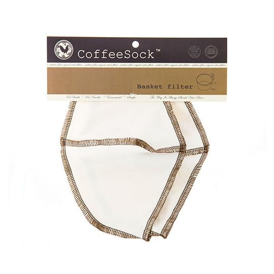 Coffeesock Hot Brew Traditional Basket Coffee Sock Filter