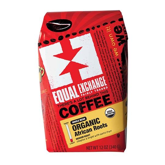 Equal Exchange Organic Coffee African Roots Ground Coffee 12 Oz