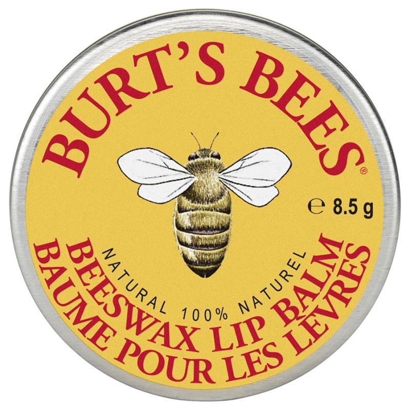 Burt's Bees Beeswax Lip Balm Tin 0.15 Oz.