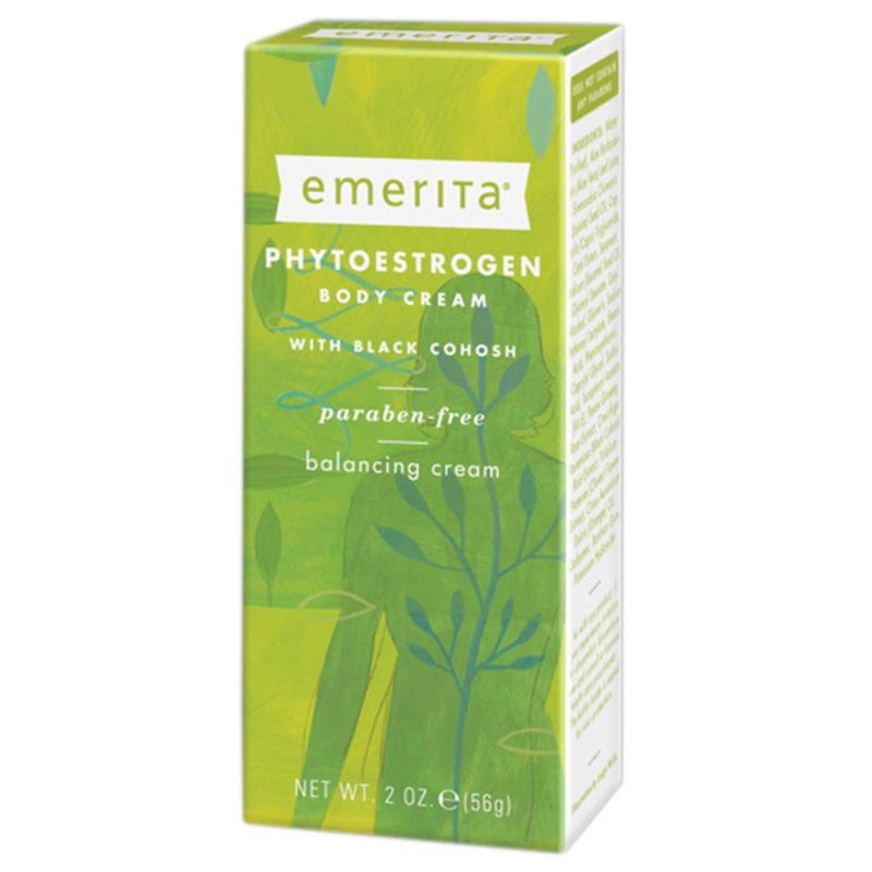 Emerita Phytoestrogen Body Cream With Dong Quai, Licorice & Black Cohosh 2 Oz.