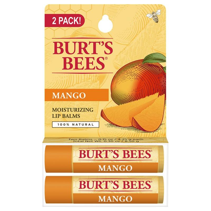 Burt's Bees Mango Butter Lip Balm Blister Box 0.15 Oz