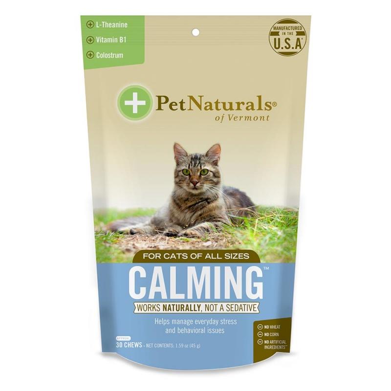 Pet Naturals Calming For Cats 30 Chews