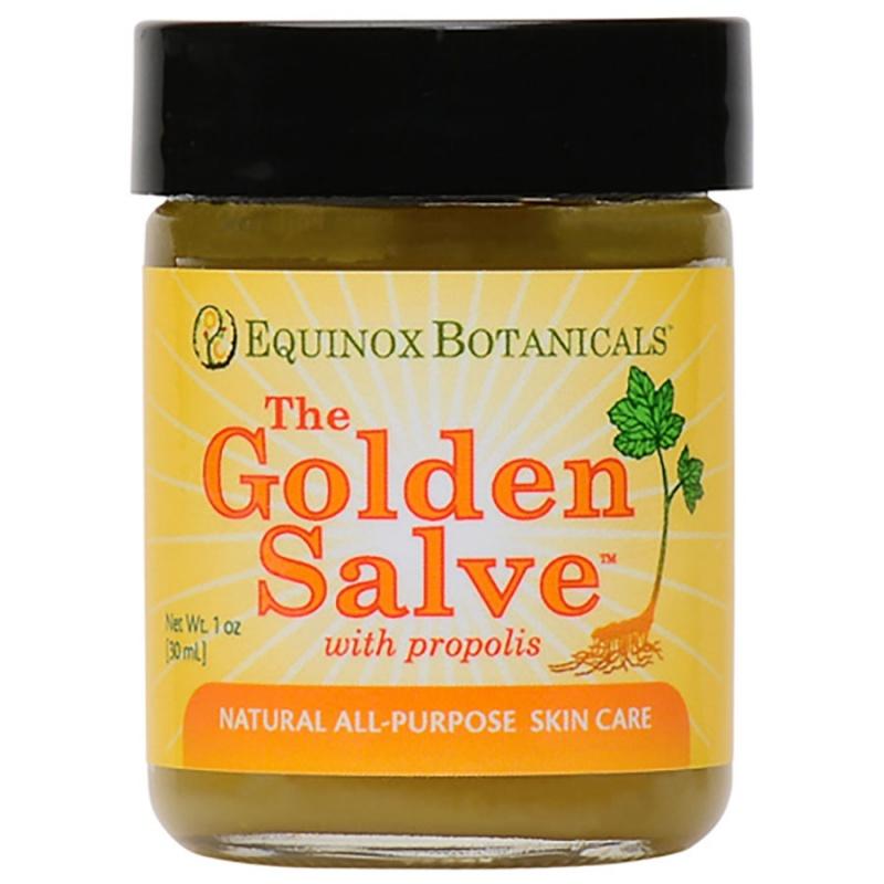 Equinox Botanicals Golden Healing Salve 1 Oz